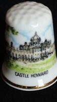 CASTLE HOWARD CARLISLE FAMILY HOME YORK PALLADIAN ARCHIT CHINA SOUVENIR THIMBLE