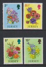 Jersey - 1974, Spring Flowers set - MNH - SG 103/6