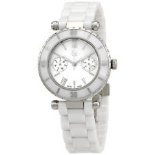 Guess Mother Of Pearl Dial Ladies Ceramic Watch I35003L1S