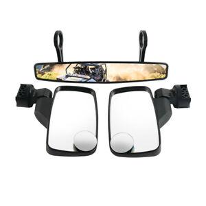 For Polaris Ranger 400 500 700 Side Mirror Rear View Mirror Blind Spot Mirrors