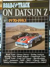 """ROAD & TRACK"" ON DATSUN, 1970-83 (Brooklands Books) Road Tests Free Shipping"