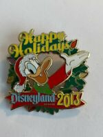 DLR Happy Holidays Donald Duck 2013  Disney Pin (B6)
