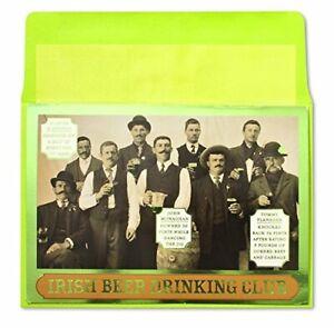 Papyrus Card  St. Patrick's Day Greeting Card  - Irish Beer Drinking Club