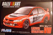 2004 Mitsubishi Lancer GSR Evolution VIII Ralli Art, 1:24, Fujimi 038179