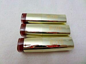 Milani Color Statement Lipstick #81 MATTE ELEGANCE  FREE SHIPPING ( LOT OF 3 )