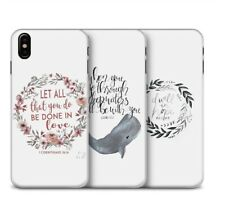 Bible Quote Jesus Christian Phone Case iPhone XR XS Max X 8 7 6 Plus 5 Samsung