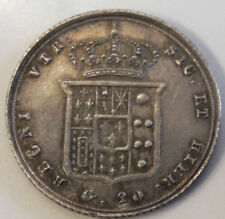 REGNO DELLE DUE SICILIE - Ferdinando II di Borbone - 20 grana 1855 Mspl