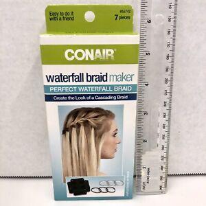 Waterfall Braid Maker Tool Conair Create A Look Cascading Braid NEW Sealed