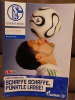 FC Schalke 04 Schalker Kreisel Magazin 17.03.2007 Bundesliga VfB Stuttgart /551