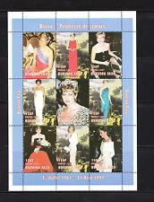 Burkina  Faso   princesse  Diana   num:  1003/11  **