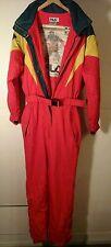 FILA Ski Womens Snowboard  Suit Sz US 8 I 44 D 38 F 40 J XL  Team Italia Nice