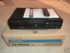 TEAC CD-RW890 High-End CD-Recorder, OVP&NEU, inkl. FB&BDA, 2J. Garantie
