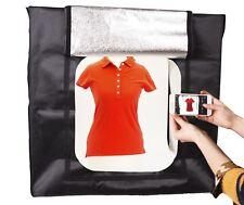 LED LightBox Tent |  4 Strip Lights | Portable Product Photography Kit | 80x80cm