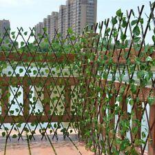Fence Artificial Garden Plant Backyard Home Decor Greenery Walls Protected Use