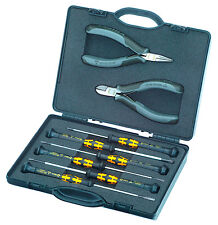 Knipex 8 Piece ESD Electronics Tool Set In Case - Made In Germany