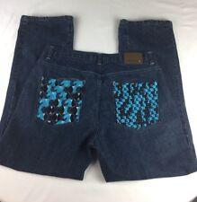 G-Unit Denim Co embroidery  denim jeans  36 x 34