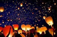 10 lanterne cinesi bianche matrimonio feste  confettata nozze fidanzamento