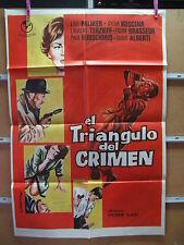 A1666 EL TRIANGULO DEL CRIMEN LILLI PALMER SYLVA KOSCINA BRASSEUR