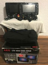 AEG CTV 4944 Twin Car DVD-Player 17,8 cm (7 Zoll) TFT, DVB-T, Kartenslot,USB 2.0