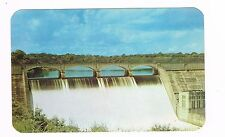 Madden Dam Chagres River Canal Panama Real Color Photo Postcard Unused '40s