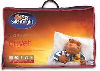 Silentnight LUXURY EMBOSSED Cooler Spring Summer Quilt Duvet - 4.5 Tog - Single