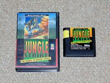 Jungle Strike Sega Genesis Game & Case