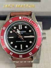 Jack Mason DIVER Watch JM-D101-018 Japanese quartz movement