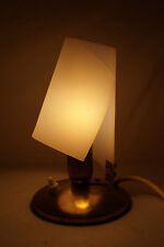 50iger Jahre Nachttisch Lampe Tisch Sideboard Leuchte E14 Fassung Spirale