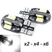 Bombillas T10. LED Canbus, 8SMD 5630 5W5 DC12V, CE RoHS.