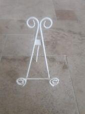 tripod display easel metal plate holder
