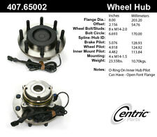 Wheel Bearing and Hub Assembly-4 X 2 Front Centric 407.65002E