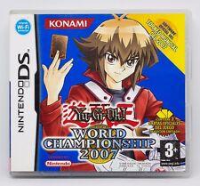 YU-GI-OH! WORLD CHAMPIONSHIP 2007 - NINTENDO DS - PAL ESPAÑA - YUGIOH YU GI OH