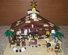INSTRUCTIONS ONLY - Lego Nativity Custom Instructions - Plans - Christmas