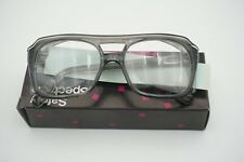 Vintage Bouton Z87 Smoke Clear Safety Glasses Side Shields Plastic Nos With Box