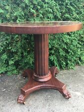 Antique Pedestal TABOURET Telephone Table Smoke Stand