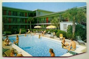 The Outrigger Apartment Motel North & Withers Myrtle Beach SOUTH CAROLINA *1969*