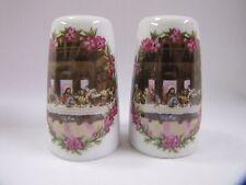 Last Supper Easter Salt & Pepper Shakers The Last Supper Vintage Set Porcelain