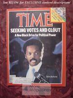 TIME magazine August 22 1983 Aug 9/22/83 JESSE JACKSON