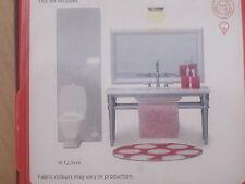 Puppenstube Badezimmer WC und Waschbecken Spiegel m. Licht *NEU* Lundby smaland