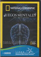 National Geographic: Juegos Mentales, Ver Para Creer (DVD) Sandoz promotion