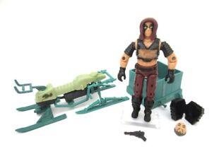 GI Joe Action Force Cobra ☆ ZARTAN SWAMP SKIER ☆ Vintage Hasbro Toy Figure 1984