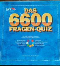 Das 6600 Fragen Quiz Noris Spiele RAR  Vollständig gebraucht Brettspiel