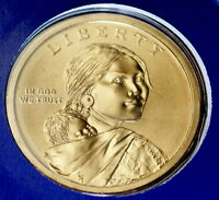 2009 P Native American Sacagawea Satin Dollar in Mint Wrap ~ Pos B from Mint Set