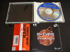 R-Type Complete CD w/spine NEC PC Engine CD-Rom Japan