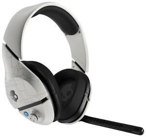 Skullcandy PLYR 1 White Wireless 7.1 Surround Sound Gaming Headphones with Mic