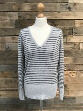 DOROTHY PERKINS Ladies Grey Viscose Blend Jumper Size 18