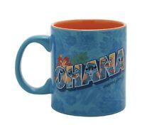 Lilo & Stitch Ohana Floral Mug New