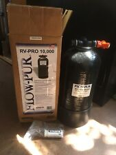 RV Pro 10000 grains portable water softener