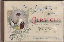 25 Ansichten aus dem Alpstein Appenzell Schweiz Verlag Marty uralt 170217B