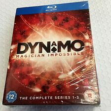 Dynamo Magician Impossible The Complete Series 1-3 new Blu-Ray dics  Set